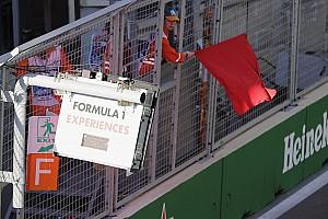 Formule 1 Nieuws Rode vlag in Grand Prix van Azerbeidzjan vanwege brokstukken