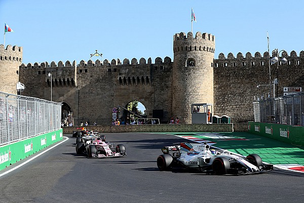 Formel 1 Ergebnisse Formel 1 2017 in Baku: Das Rennergebnis in Bildern
