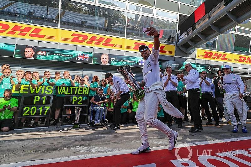 L'œil de James Allen : Mercedes frappe fort sur les terres de Ferrari