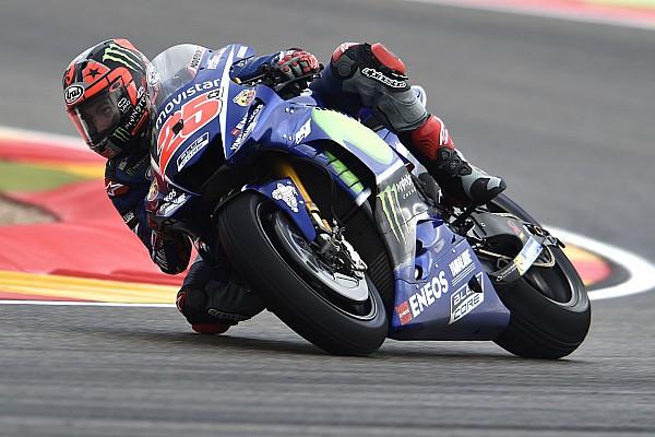 """MotoGP Breaking news Vinales """"really frustrated"""" by backward step in wet"""