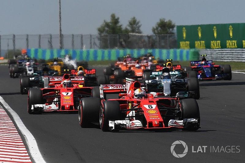 La F1 podría incorporar elementos estándar en los autos
