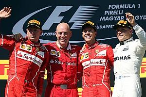 فورمولا 1  الأكثر تشويقاً ترتيب بطولة العالم للفورمولا واحد بعد جائزة المجر الكبرى