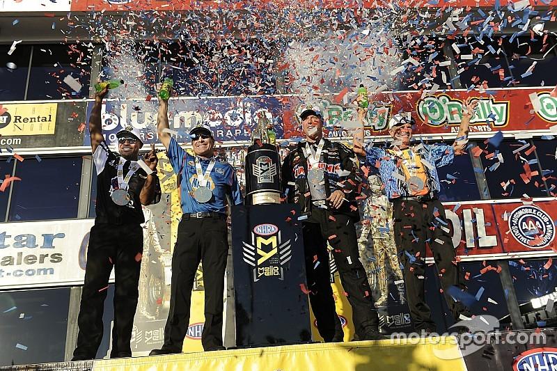 Capps, Line, Savoie take titles; Kalitta, Johnson Jr., Anderson, Smith earn wins