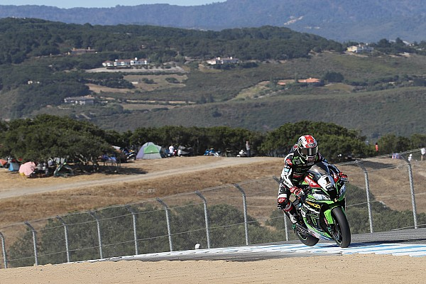 Superbike-WM Superbike-WM WorldSBK: Jonathan Rea gewinnt Lauf 2 in Laguna Seca