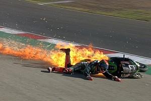 WSBK Noticias de última hora Un duro accidente dejó a Tom Sykes fuera del WorldSBK en Portugal