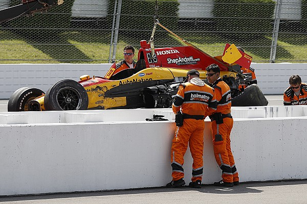 Nach 320-km/h-Crash: IndyCar-Fahrer erhält Startfreigabe