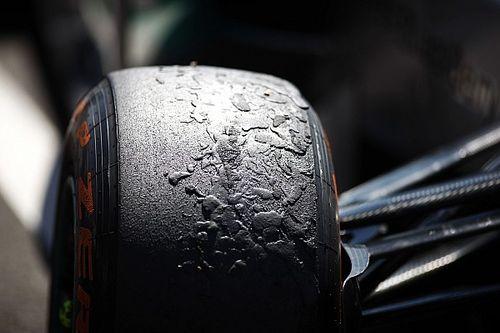 ¿Qué es el 'graining' de los neumáticos de F1?