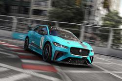 Jaguar I-PACE eTROPHY car