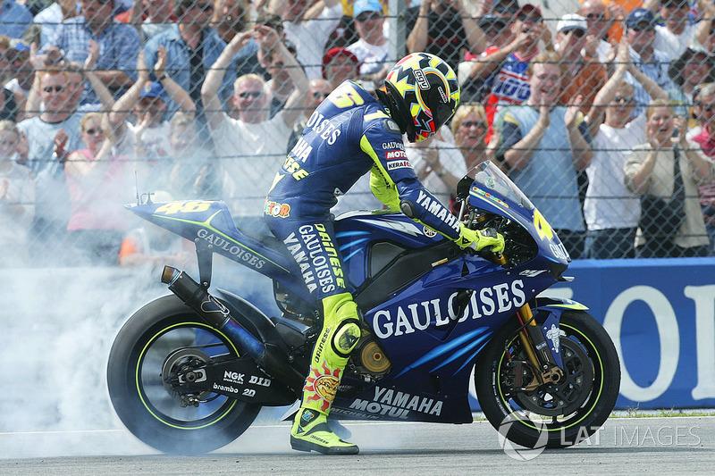 4ª: 2004 Valentino Rossi (Gauloises Yamaha - MotoGP)