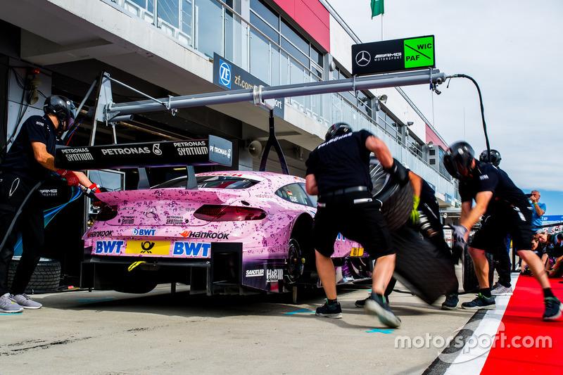 Лукас Ауэр, Mercedes-AMG C 63 DTM, Mercedes-AMG DTM Team HWA