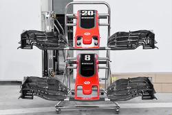 Haas F1 Team VF-17, alerón delantero