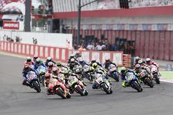 Salida: Marc Marquez, Repsol Honda Team lidera