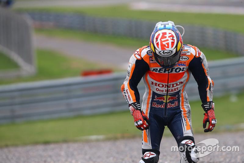 Accidente de Dani Pedrosa, Repsol Honda Team
