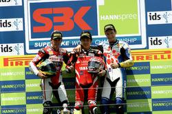Podium: 1. Noriyuki Haga, Yamaha; 2. Troy Bayliss, Ducati; 3. Max Neukirchner, Suzuki