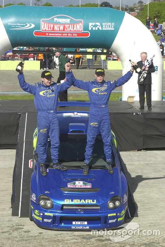 1. Richard Burns, Robert Reid, Subaru Impreza WRC