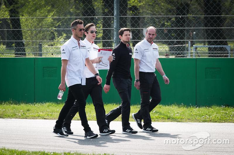 Andre Lotterer, Porsche Team, during the track walk