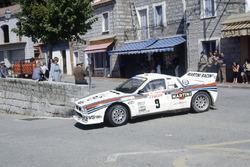 Markku Alen, Ilka Kivimaki, Lancia Rally 037