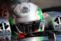 Alfonso Celis Jr., Sahara Force India F1 VJM10 piloto de desarrollo