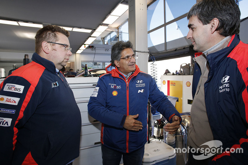 Michel Nandan, director del Hyundai Motorsport Team