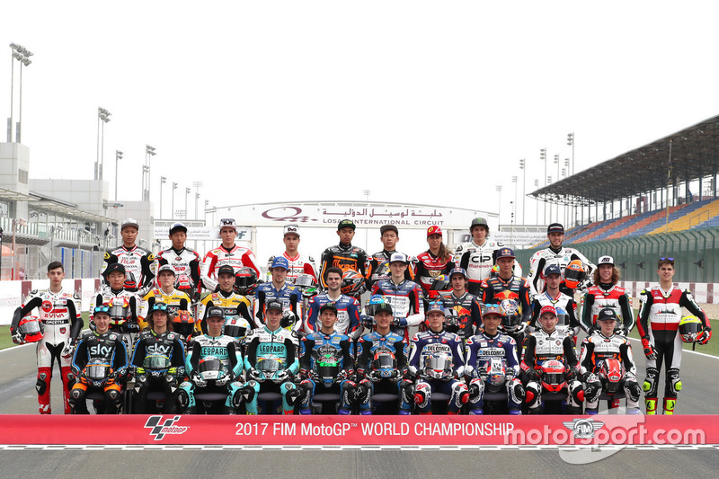 Alle Fahrer in der Moto3 2017