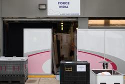 Force india F1 team, garaje