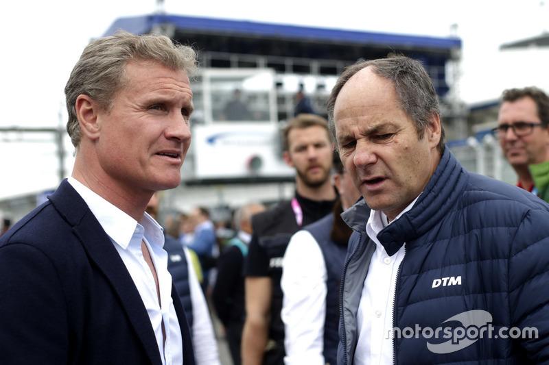 David Coulthard, Gerhard Berger, ITR Chairman