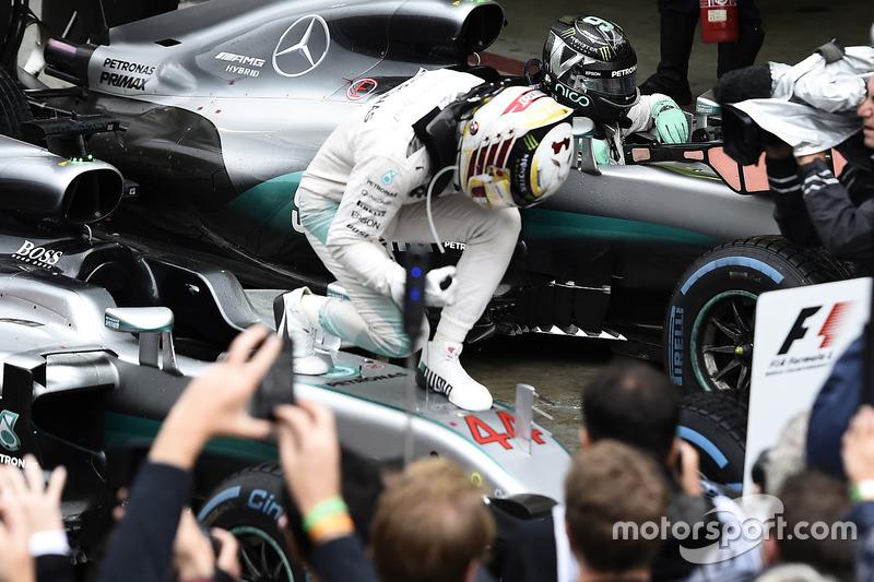 2016. Інтерлагос. Переможець: Льюіс Хемілтон, Mercedes AMG F1 W07