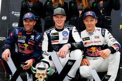 Podium: 1. Johan Kristoffersson, PSRX Volkswagen Sweden, VW Polo GTi; 2. Sebastien Loeb, Team Peugeot-Hansen, Peugeot 208 WRX; 3. Mattias Ekström, EKS, Audi S1 EKS RX Quattro