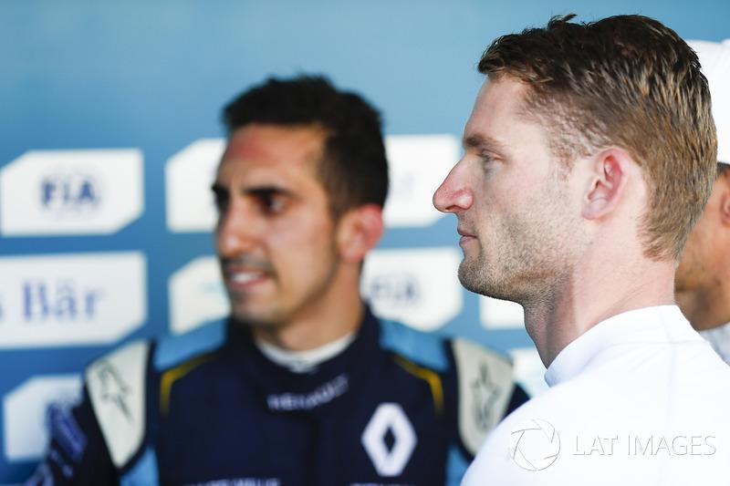 Sébastien Buemi, Renault e.Dams, ve Maro Engel, Venturi