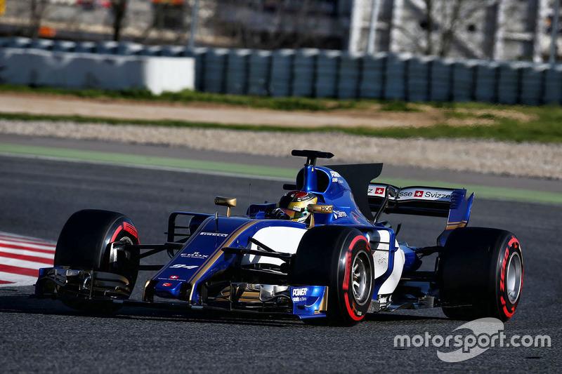 20º Pascal Wehrlein, Sauber C36, 1m22.347s (superblandos)