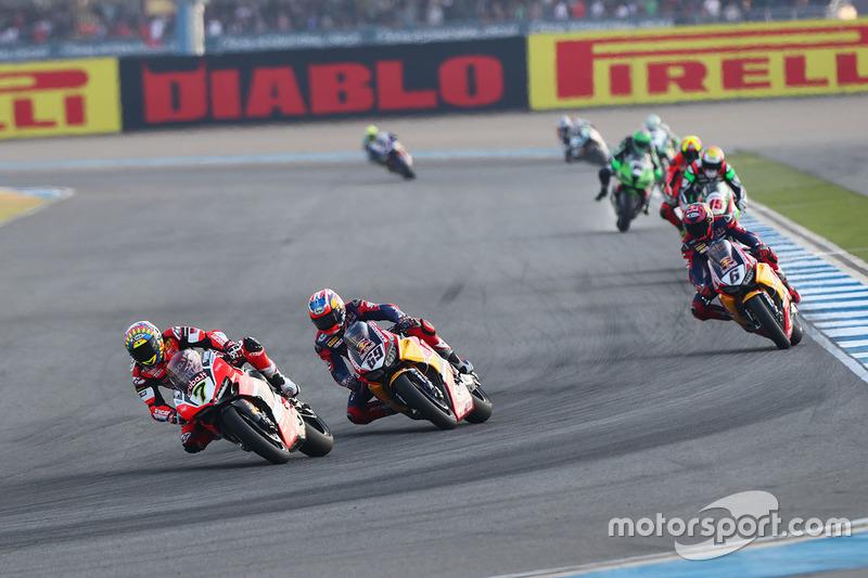 Chaz Davies, Ducati Team, Nicky Hayden, Honda World Superbike Team