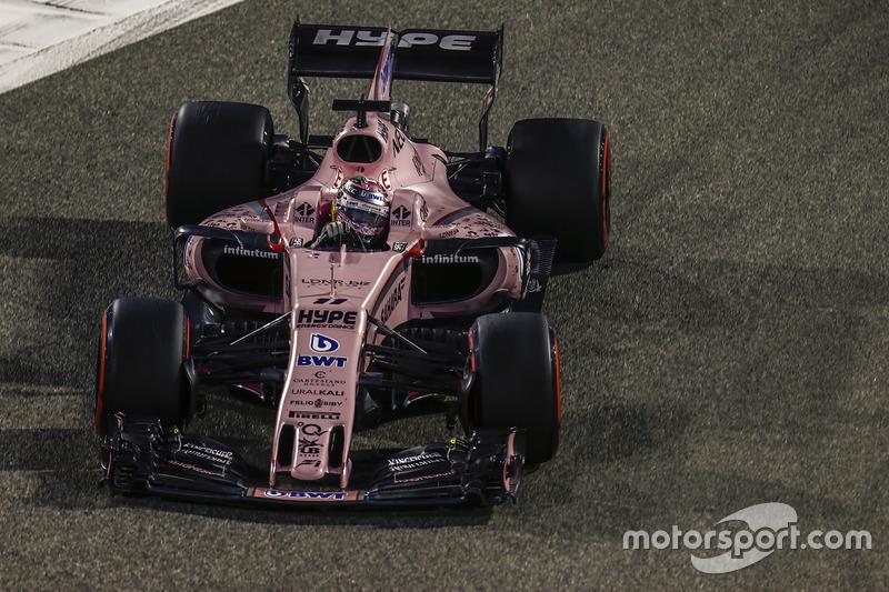 Sergio Pérez, Force India VJM10