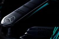 Mercedes AMG F1 W08 Hybrid nose detail