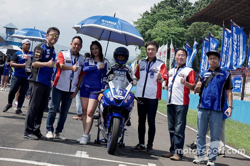 Aldi Satya Mahendra, Yamaha GHP HDS Pirelli KYB RCB DID NGK