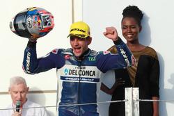Podium : le vainqueur Jorge Martin, Del Conca Gresini Racing Moto3