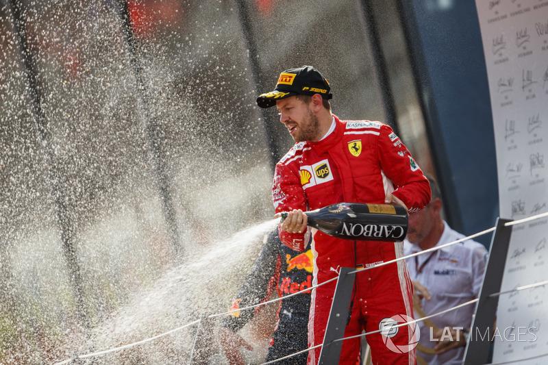 Sebastian Vettel - Ferrari: 7