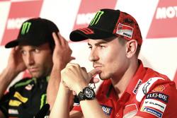 Press Conference, Jorge Lorenzo, Ducati Team