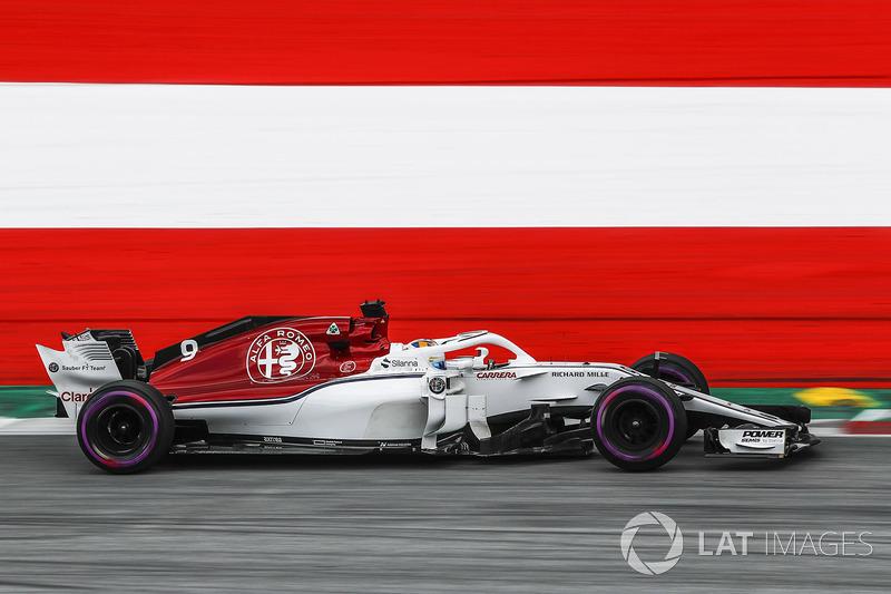 20 місце — Маркус Ерікссон, Sauber — 3