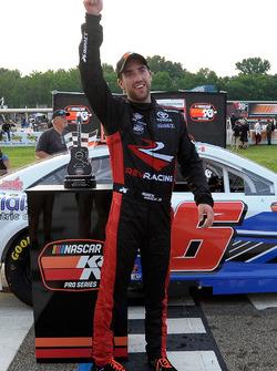 Race winner Ruben Garcia Jr.