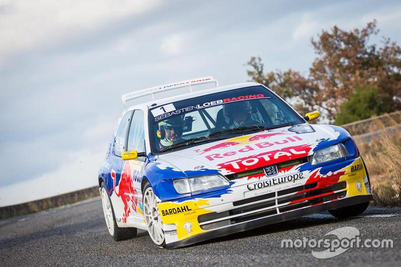 S bastien loeb s bastien loeb racing peugeot 306 maxi at rallye du var - Voiture sebastien loeb ...