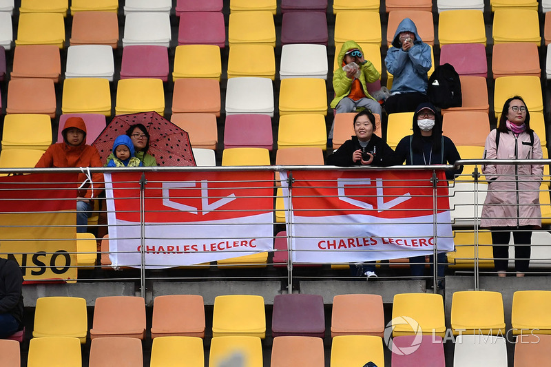 Fan di Charles Leclerc, Sauber