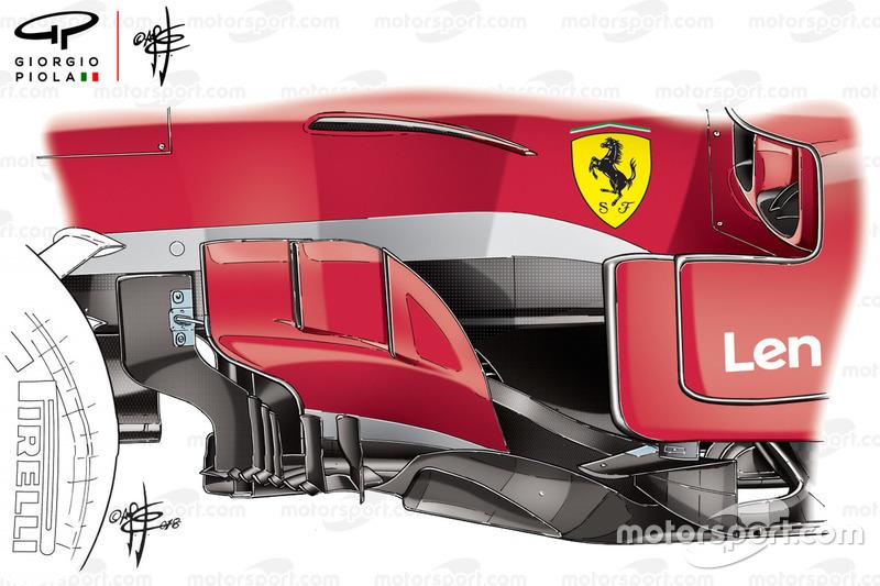 Боковий дефлектор Ferrari SF71H