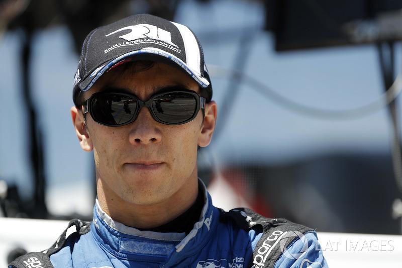 №30: Такума Сато, Rahal Letterman Lanigan Racing Honda