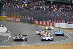 #33 Jackie Chan DC Racing Ligier JSP217 Gibson: David Cheng, Nicholas Boulle, Pierre Nicolet,, #11 SMP Racing BR Engineering BR1: Mikhail Aleshin, Vitaly Petrov, Jenson Button