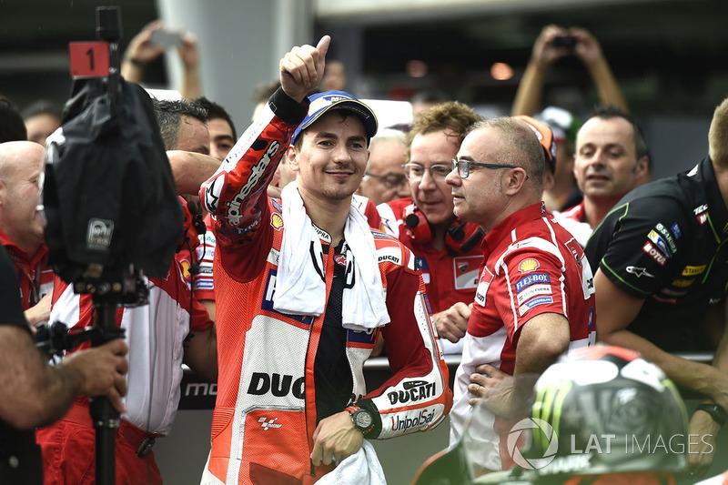 segundo, Jorge Lorenzo, Ducati Team