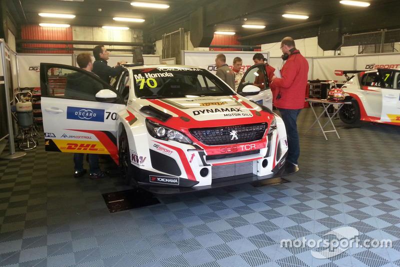 Автомобиль Peugeot 308 TCR Мато Хомолы, DG Sport Competition