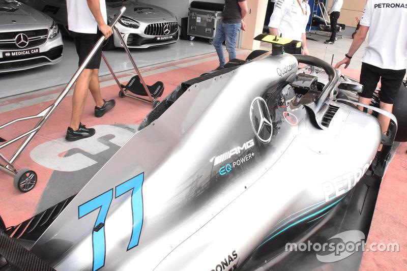 Mercedes-AMG F1 W09 bodywork detail