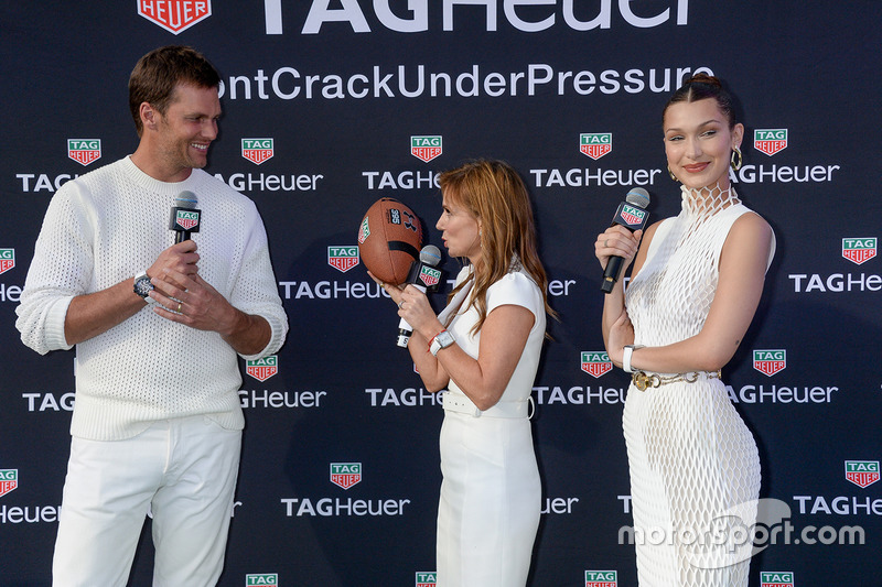 Tom Brady, Geri Halliwell Horner y Bella Hadid