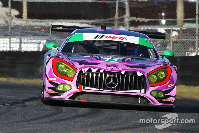 49.- #71 P1 Motorsports Mercedes AMG GT3: Kenton Koch, Robert Foley III, Juan Perez, Loris Spinelli