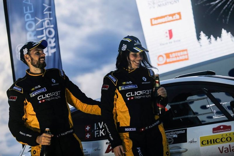 Clio R3T Alps Trophy: Rallye International Valais